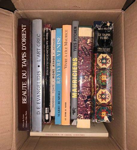Lot of art books