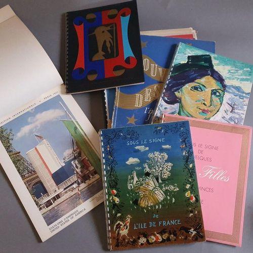 BROWN BEAR. Delagrave éditeur, Paris, 1939. 1 vol. In 4, edition cardboard (dama…