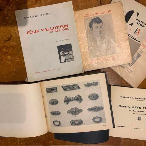 BOOK LOT HEDY HAHNLOSSER BÜLHER. FÉLIX VALLOTTON AND HIS FRIENDS. Paris, Edition…