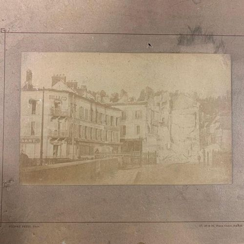 Pierre Petit (1832 1909) 27, 29 & 31, Place Cadet Paris Albuminated print 13.5 x…