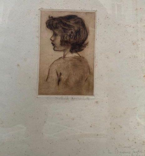Set of engravings including: Du GESCLIN, engraving Two RAFFET engravings Two CHO…