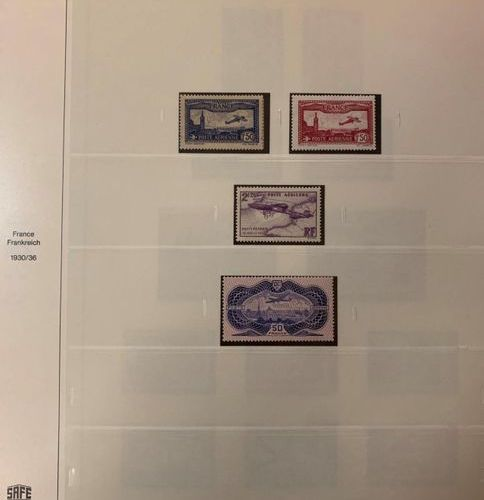 FRANCE Issues 1859/2012: Beautiful collection of mint and cancelled stamps: TAX,…