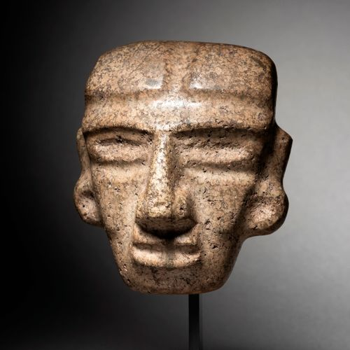 PENDENTIAL MASK CHONTAL CULTURE, STATE OF GUERRERO, MEXICO RECENT PRECLASSICAL, …
