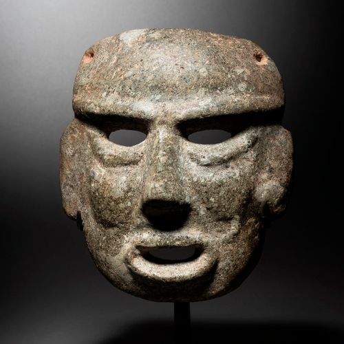 MASQUE ANTHROPOMORPHY CHONTAL CULTURE, STATE OF GUERRERO, RECENT PRECLASSIC MEXI…