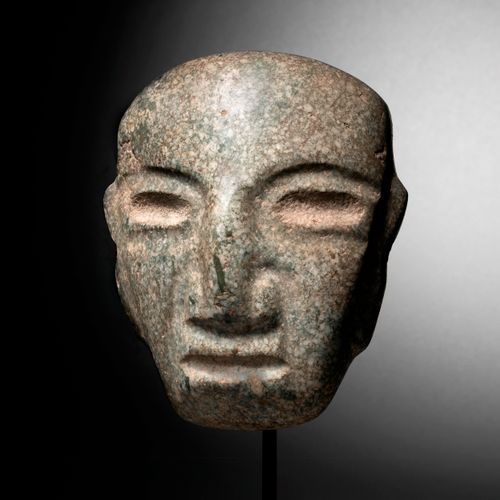 IMPORTANT MASK CHONTAL CULTURE, STATE OF GUERRERO, MEXICO RECENT PRECLASSIC, 300…