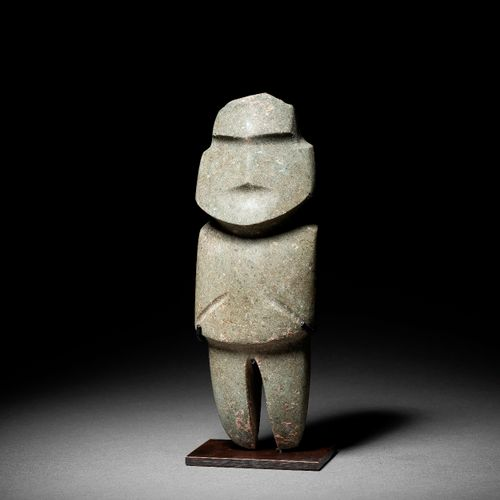 STANDING FIGURE MEZCALA CULTURE, STATE OF GUERRERO, RECENT PRECLASSIC MEXICO, 30…