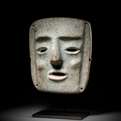 IMPORTANT MASK CHONTAL CULTURE, STATE OF GUERRERO, RECENT PRECLASSIC MEXICO, 300…
