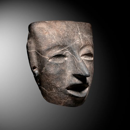 FUNERARY MASK TEOTIHUACAN CULTURE, MEXICO VALLEY, CLASSIC MEXICO 450 650 AP. J. …