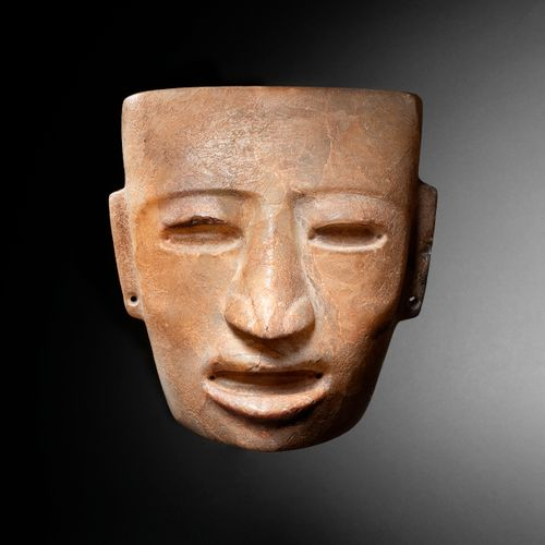 MASQUE ANTHROPOMORPHE CULTURE TEOTIHUACAN, VALLEY OF MEXICO, MEXICO CLASSICAL, 4…