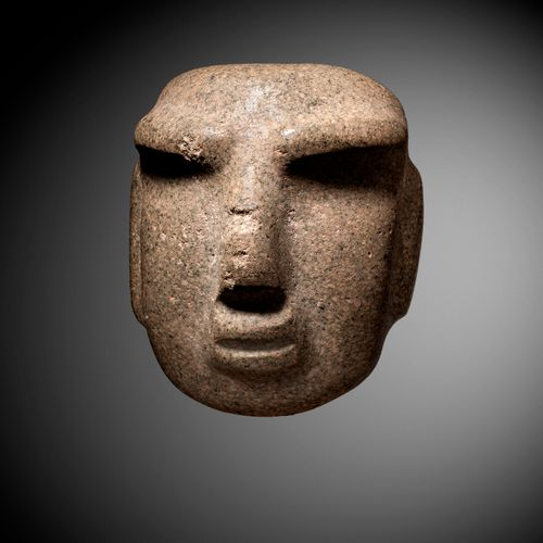 ANTHROPOMORPHY MASK CHONTAL CULTURE, STATE OF GUERRERO, MEXICO RECENT PRECLASSIC…