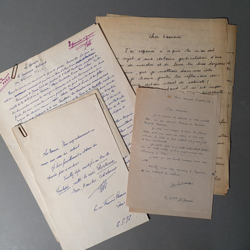 [ARTAUD Antonin].FELS Florent. THE DEMON OF ANTONIN ARTAUD. AUTOGRAPH MANUSCRIPT…