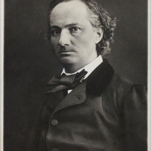 [BAUDELAIRE Charles]. NADAR Paul. PORTRAIT OF CHARLES BAUDELAIRE. [Paris circa 1…