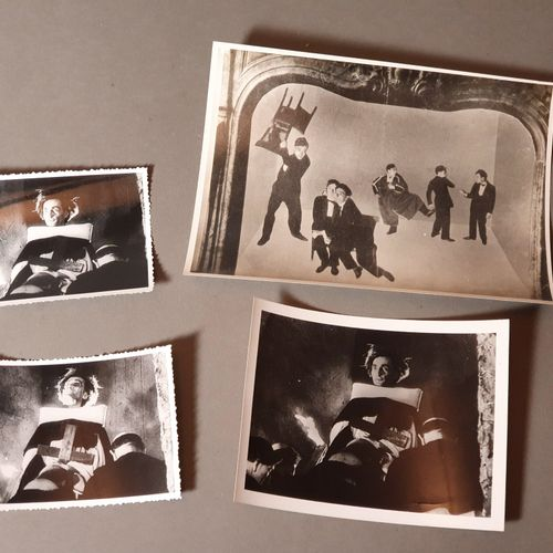 [ARTAUD Antonin]. ARTAUD IN THE FILM JEANNE D'ARC. [1928]. THREE ORIGINAL PHOTOG…