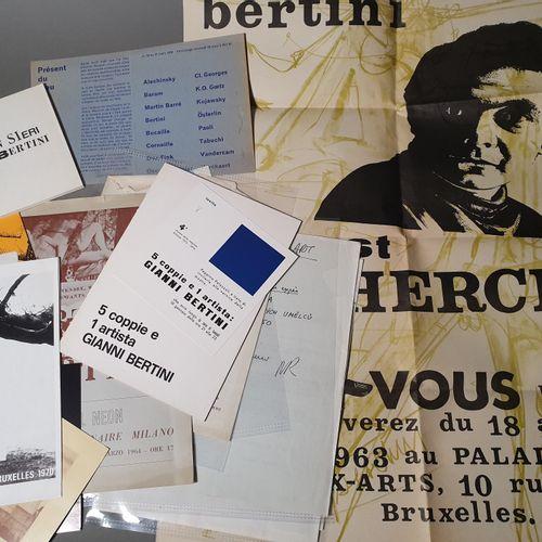 BERTINI Gianni. BERTINI, PEN SIERI LIBERTINI. Milan, March 1968. In 12, stapled.…
