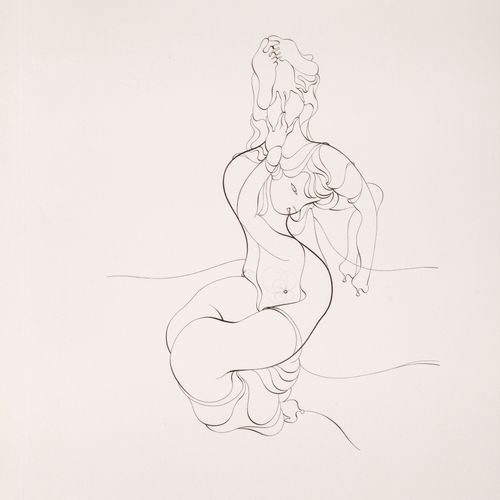 BELLMER Hans. ANATOMY OF THE IMAGE. ORIGINAL SIGNED ETCHING. Paris, Galerie Andr…