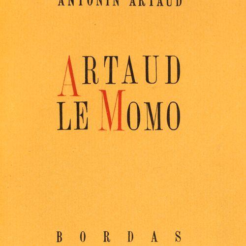 ARTAUD Antonin.ARTAUD LE MOMO. Paris, Bordas, 1947. In 12, half maroon with hava…