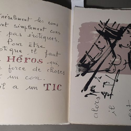 BERTINI Gianni. EROTICON. 1960. In 4 in sheets, in a dummy folder. SINGLE SINGLE…
