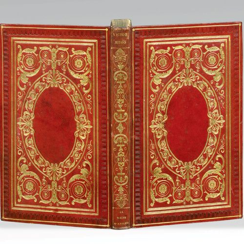 HUGO (Victor). Marie Tudor. Deuxième édition. Paris, Eugène Renduel, 1833. In 8,…