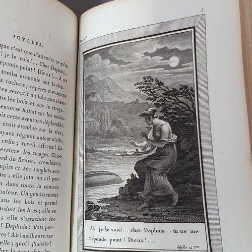GESSNER (Salomon). Iuvres. Paris, Antoine Augustin Renouard, 1795. 4 volumes in …
