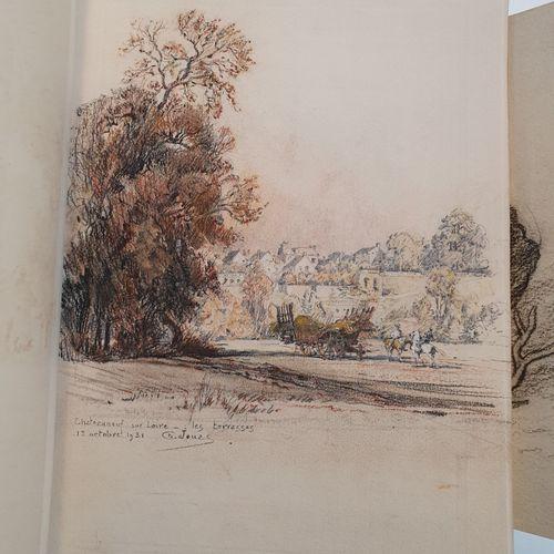 GENEVOIX (Maurice). Forêt voisine. S.L., Société de Saint Éloy, 1931. In 4, maro…