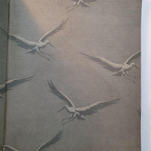 HANSI. Ensemble 2 ouvrages en 2 volumes in 4, cartonnages d Engel, toiles décoré…