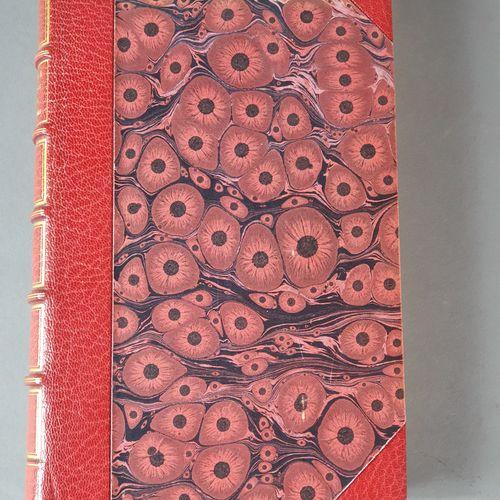 DAVILLIER (Charles). L Espagne. Paris, Hachette et Cie, 1874. In 4, demi maroqui…