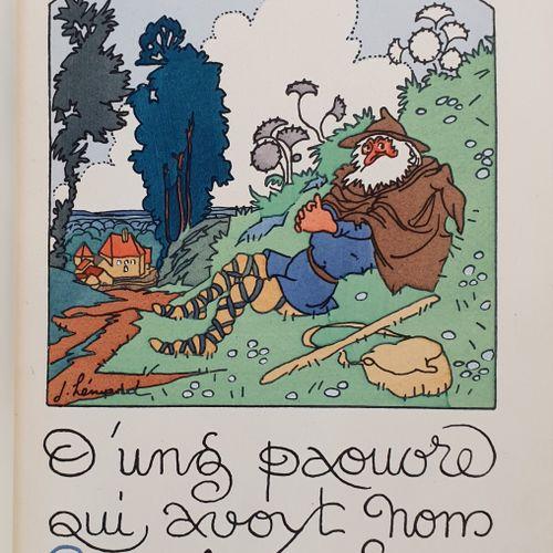 BALZAC (Honoré de). D ung paouvre qui avoit nom Le Vieulx par Chemins. Texte man…