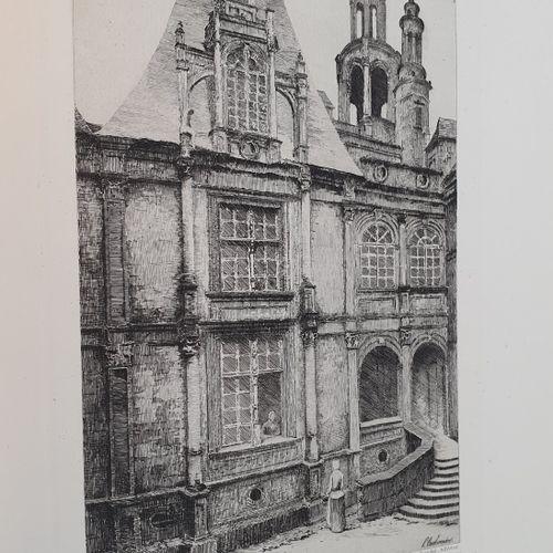 BEAUREPAIRE (Eugène de Robillard de). Caen illustrated. Its history, its monumen…