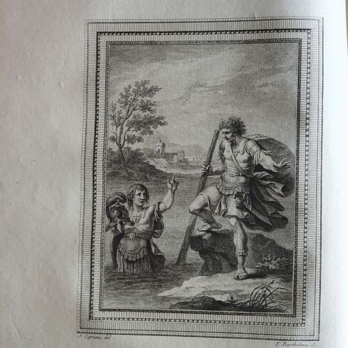 ARIOSTE. Roland furieux, poëme héroïque. Traduction nouvelle, par M. D Ussieux. …