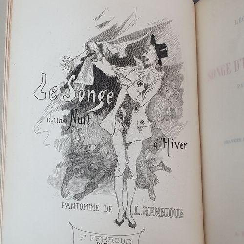 FRANCE (Anatole). Madame de Luzy. Paris, Ferroud, 1902. HENNIQUE (Léon). Le Song…