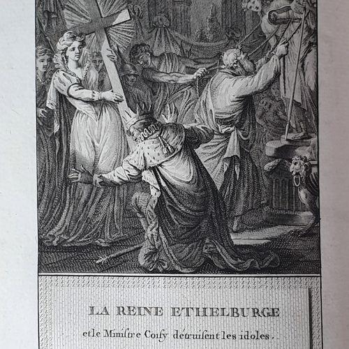 DAVID (François Anne). Histoire d Angleterre, représentée par figures, accompagn…