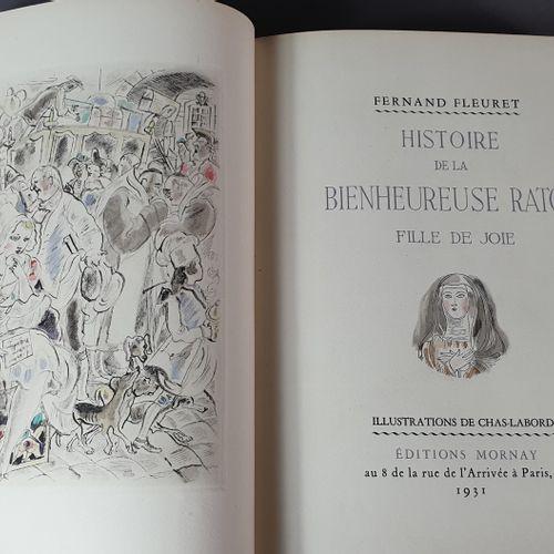 FLEURET (Bernard). Histoire de la bienheureuse Raton fille de joie. Paris, Éditi…