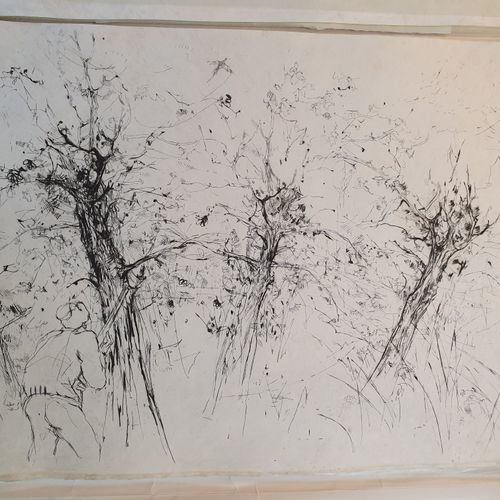 GENEVOIX (Maurice). Raboliot. Paris, Robert Léger, 1974. In 4, en feuilles, couv…