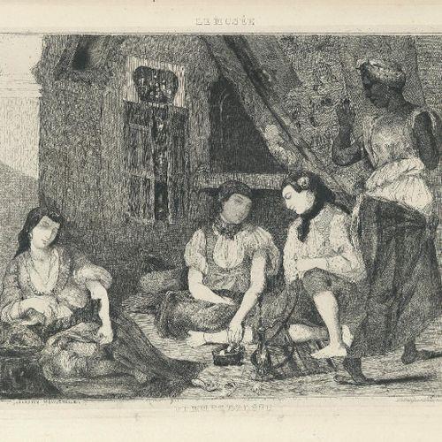 [DESCAMPS (Alexandre)]. Le Musée, revue du Salon de 1834. Paris, Abel Ledoux, 18…