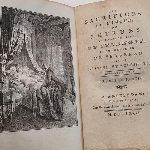 DORAT. [iuvres]. Ensemble 19 volumes in 8, broché, non rogné, sous couverture d …