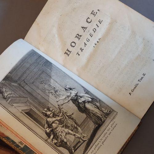 CORNEILLE (Pierre). Théâtre, avec des commentaires. S.L.N.N. [Genève, Cramer], 1…