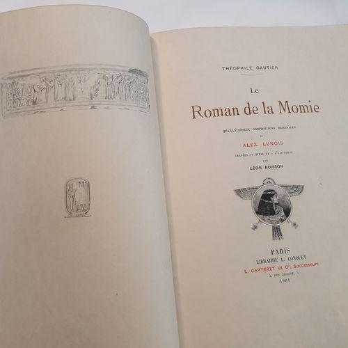 GAUTIER (Théophile). Le Roman de la momie. Paris, Conquet, Carteret et Cie, 1901…