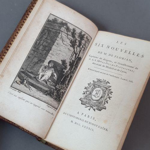 FLORIAN. Les Six nouvelles. Paris, De l Imprimerie de Didot l aîné, 1784. In 18,…