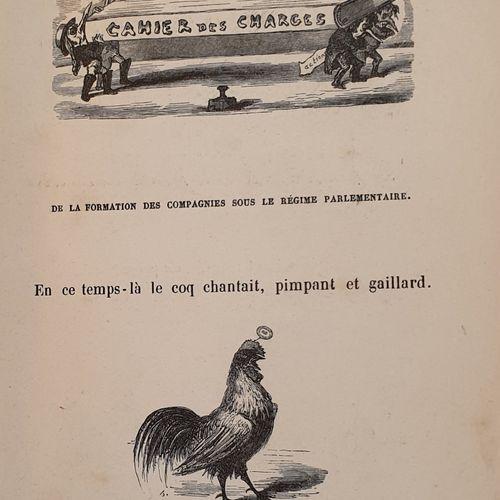 BERTALL. Railway specifications. Illustrated pamphlet. Paris, Hetzel, 1847. In 8…
