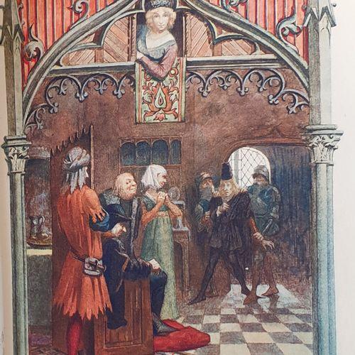 BANVILLE (Théodore de). Gringoire, comédie en un acte en prose. Paris, Louis Con…
