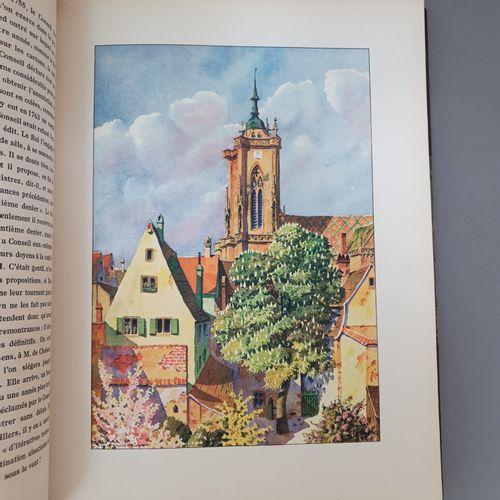 HANSI. FISCHER (Carlos). Colmar en France. Paris, H. Floury, 1923. In 4, demi ma…