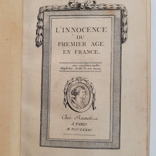 [BILLARDON DE SAUVIGNY (Louis Edme)]. L Innocence du premier âge en France, ou H…