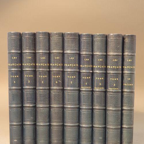 FRANÇAIS PEINTS PAR EUX MÊMES (Les), encyclopédie morale du dix neuvième siècle.…