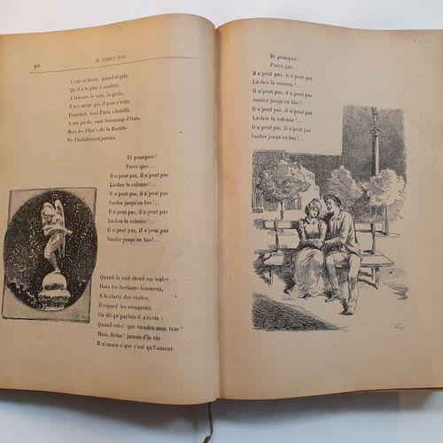 BRUANT (Aristide de). Songs and monologues. Paris, H. Geffroy, s.D. [c. 1890]. L…
