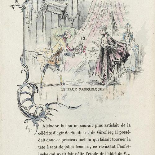 GAUTIER (Théophile). Le Petit chien de la marquise. S.L.N.D. [Paris, Conquet, 18…