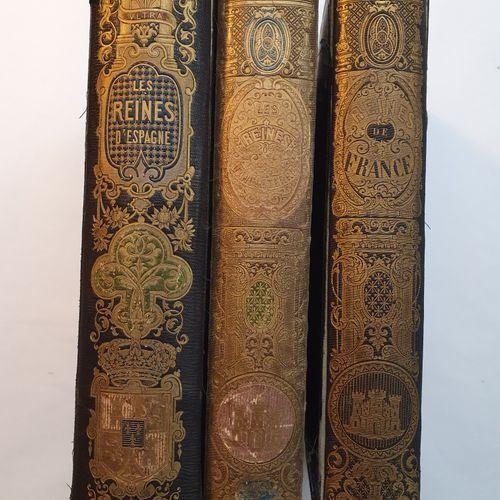 CELLIEZ (A.). Les Reines de France. Paris, Lehuby, 1851. Les Reines d Angleterre…