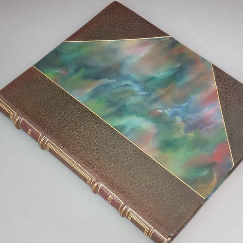 GOETHE. Faust. Paris, Aux éditions de La Roseraie, 1924. In 4, demi maroquin oli…