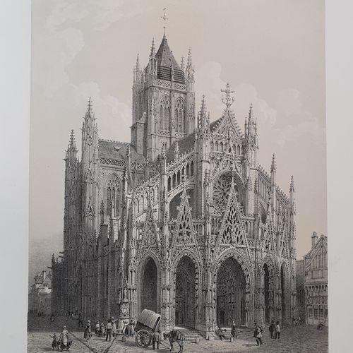 [BENOÎT (Félix) et Hippolyte LALAISSE]. La Normandie illustrée. Monuments, sites…