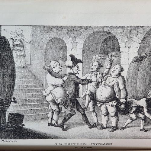[COMBE (William)]. GANDAIS. Le Don Quichotte romantique, ou Voyage du docteur Sy…