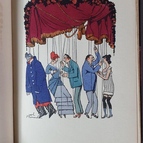 COURTELINE (Georges). Iuvres complètes illustrées. Paris, Éditions du Trianon, 1…